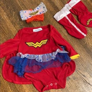 DC Wonder Woman Baby Girl Costume